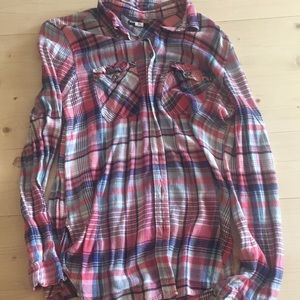 Urban outfitters plaid top